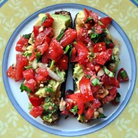 California Bruschetta on New Vineland Bread