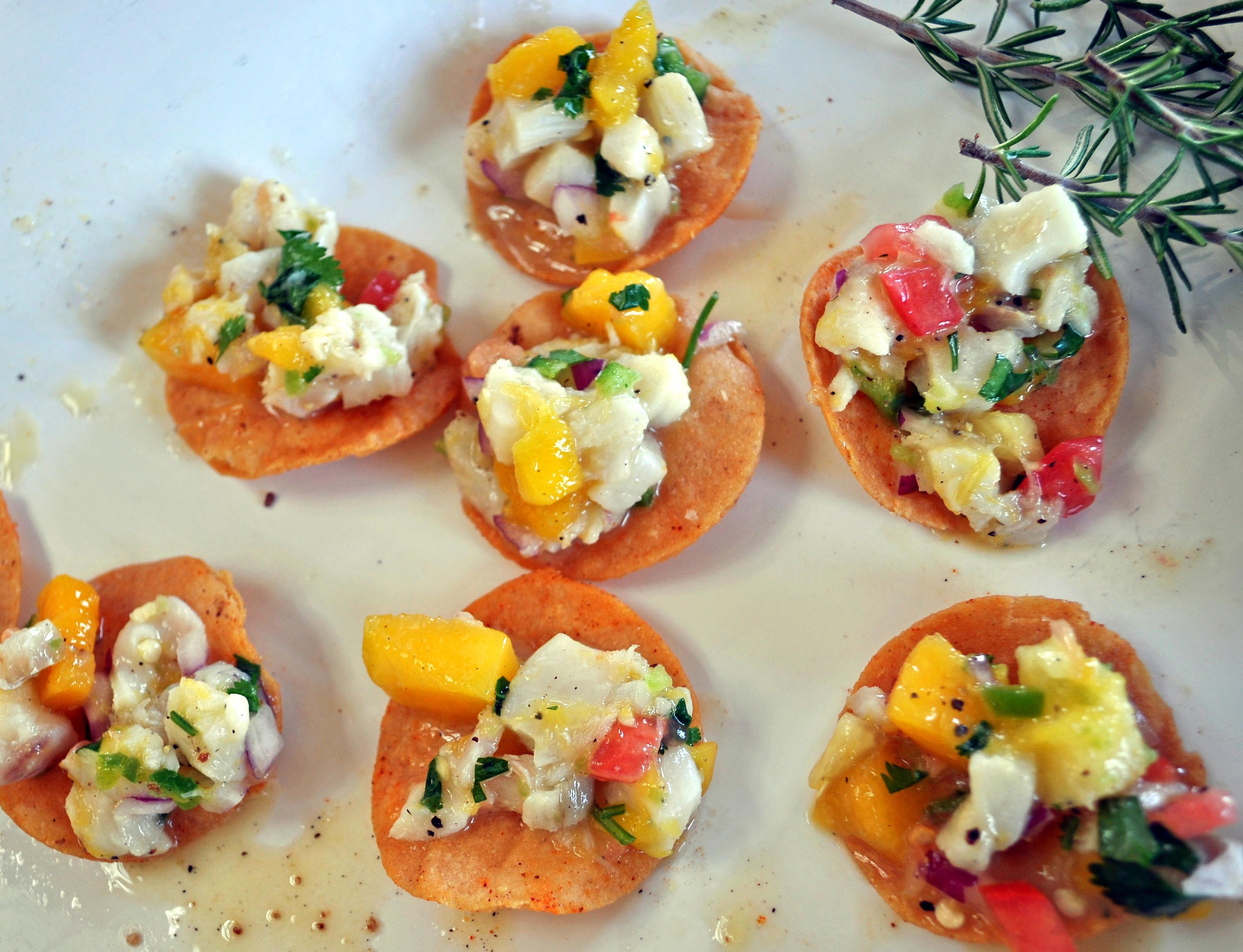 Ceviche Tostadas | Food and Wine Safari